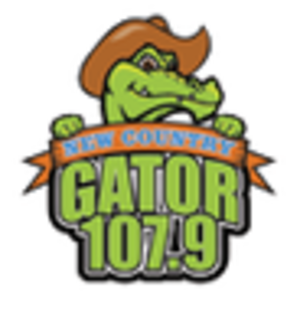 WGTR - Image: WGTR GATOR107.9 logo
