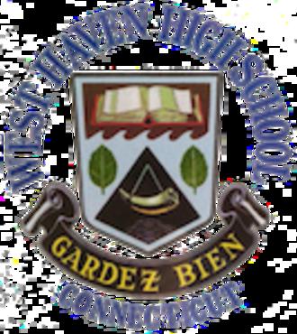 West Haven High School - Image: West Haven High School logo