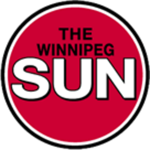 Winnipeg Sun - Winnipeg Sun logo used from 1999 until 2004.
