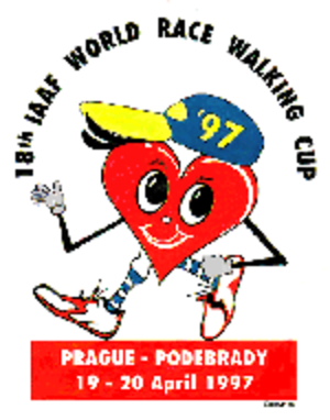 1997 IAAF World Race Walking Cup - Image: Wrc logo 1997