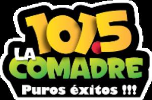 XHBB-FM - Image: XEBBXHBB 1015lacomadre logo