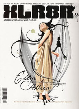 XLR8R - Image: XLR8R (magazine)