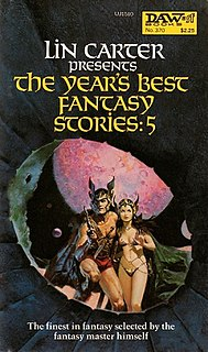 <i>The Years Best Fantasy Stories: 5</i> book by Lin Carter
