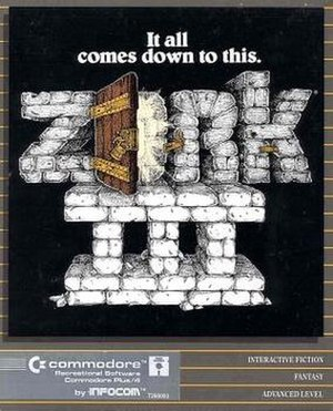 Zork III - Zork III Commodore 64 cover art
