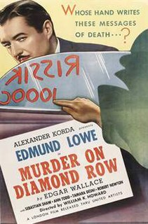 <i>The Squeaker</i> (1937 film) 1937 film by William K. Howard