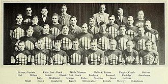 1925 Illinois Fighting Illini football team - Image: 1925 Illinois Fighting Illini football team