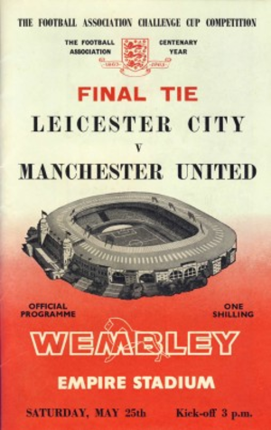 1963 FA Cup Final - Image: 1963facupfinalprog