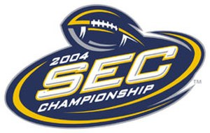 2004 SEC Championship Game - 2004 SEC Championship logo.