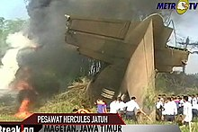 2009 Indonesia C-130H Hercules crash.jpg