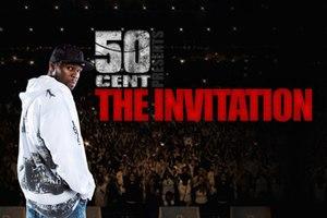 The Invitation Tour - Promotional Art For 50 Cent's The Invitation Tour