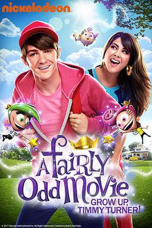 A Fairly Odd Movie: Grow Up, Timmy Turner! - Film poster
