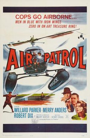 Air Patrol (film) - Theatrical release poster