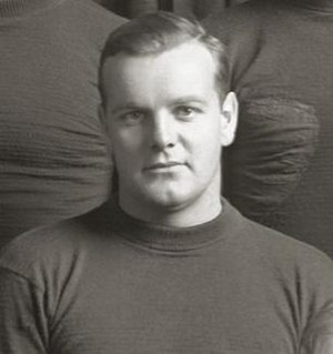 Alan Bovard - Bovard cropped from 1929 Michigan football team photograph