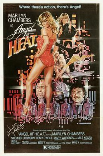 Angel of H.E.A.T. - Image: Angel of heat movie poster md