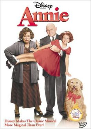 Annie (1999 film) - DVD cover