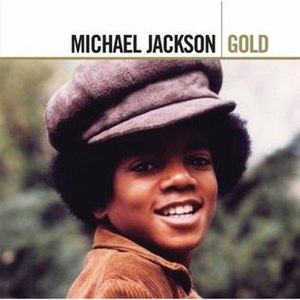 "Anthology (Michael Jackson album) - Image: Anthology (Michael Jackson album ""Gold"" reissue cover art)"