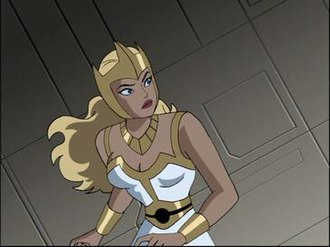 Fury (DC Comics) - Aresia from the Justice League series