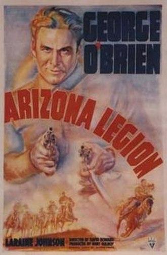 Arizona Legion - Theatrical poster for the film