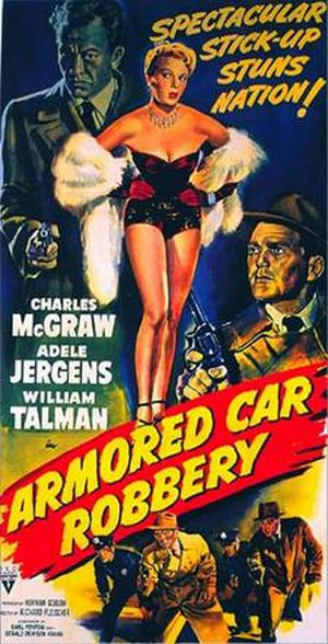 Armored Car Robbery - Theatrical release poster