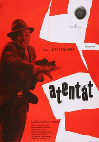 Atentát - Movie poster