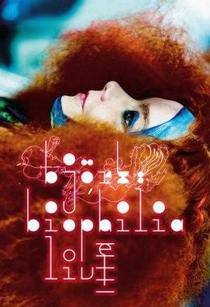 Björk: Biophilia Live - Official poster