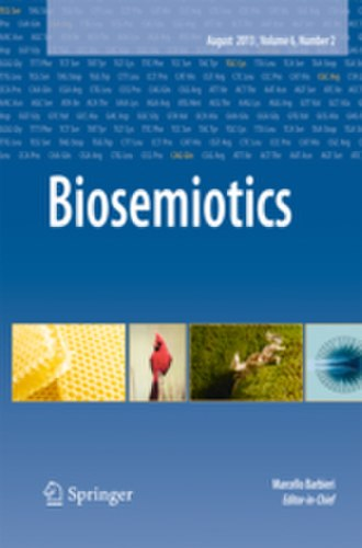 Biosemiotics (journal) - Image: Biosemiotics 2016 cover