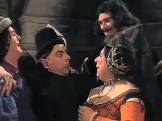 The Queen of Spains Beard 4th episode of the first season of The Black Adder
