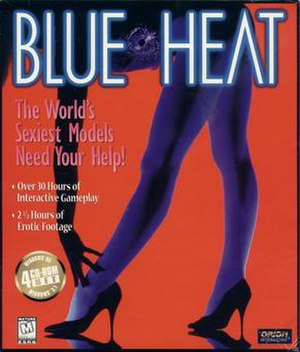 Blue Heat: The Case of the Cover Girl Murders - Image: Blue Heat cover art