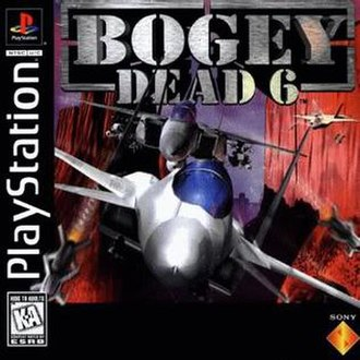 Bogey Dead 6 - NTSC front cover