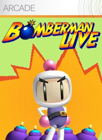 Bomberman Live - Image: Bombermanlive logo