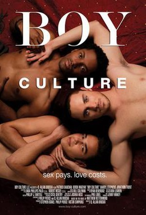 Boy Culture - Theatrical release poster