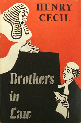 Brothers in Law (novel) - First edition (publ. Michael Joseph)