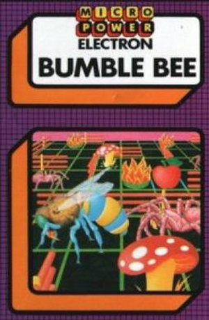 Lady Bug (video game) - Bumble Bee cover art