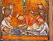 The burial of Becket