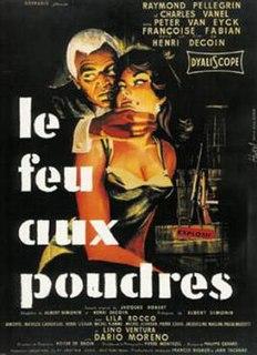 <i>Burning Fuse</i> 1957 French-Italian film directed by Henri Decoin