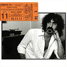 Live album by Frank Zappa and The Mothers of Invention