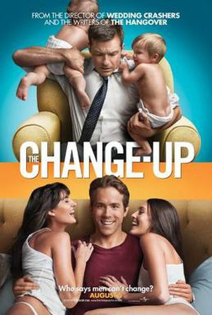 The Change-Up - Theatrical release poster