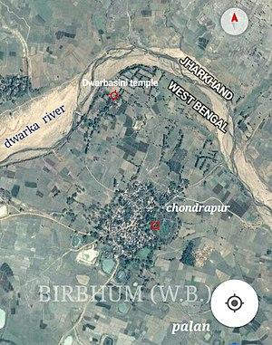 Chondrapur - Image: Chondrapur Dwarbasini birbhum