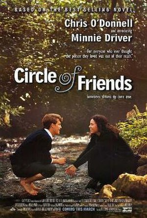 Circle of Friends (1995 film) - Theatrical release poster