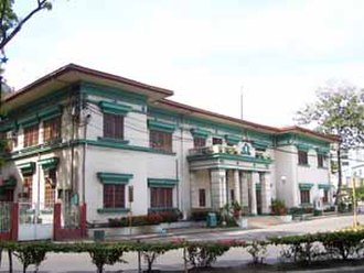 Seat of local government - Executive Building (Old City Hall) in Cagayan de Oro City, Philippines