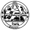 Official seal of Claiborne County