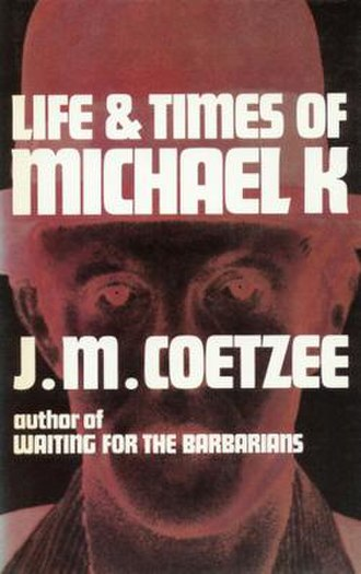 Life & Times of Michael K - First South African edition cover