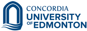 Concordia University of Edmonton logo Feb 2016.png