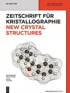 <i>Zeitschrift für Kristallographie – New Crystal Structures</i> Academic journal