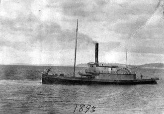 Seattle tugboats - Cyrus Walker in 1893