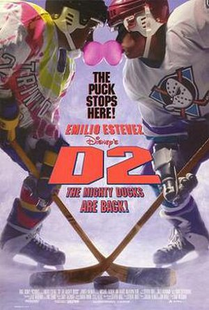 D2: The Mighty Ducks - Theatrical release poster