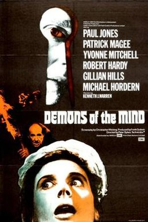 Demons of the Mind - Theatrical release poster
