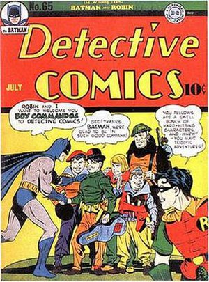 Boy Commandos - Image: Detective Comics Issue 65 debut Boy Commandos
