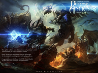 Defense of the Ancients - Image: Dota 75 loading screen