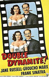 <i>Double Dynamite</i> 1951 film by Irving Cummings